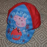 Новая кепка бейсболка Peppa pig свинка пеппа ог 48-51 на 12-18 мес