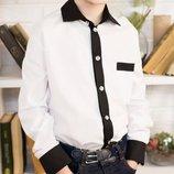 Распродажа - стильная нарядная рубашка