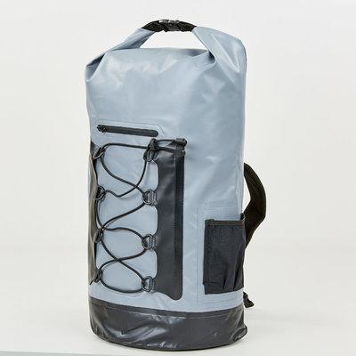 Водонепроницаемый рюкзак Waterproof Bag 0381-28 объем 28л серо-черный цвет