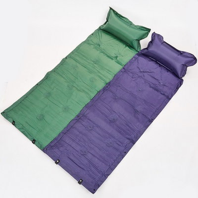 Коврик для кемпинга самонадувающийся с подушкой 0559 матрас самонадувающийся 180х50см 2 цвета