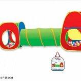 Палатка 5538-13 С Тоннелем. Детская палатка. Дитяча палатка. Дитячий намет.