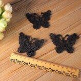 Акума-Бабочки Ледибаг нашивки одежды черные белые