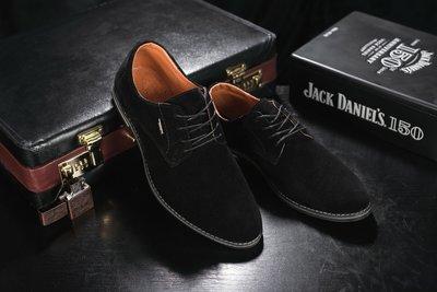 Элегантные замшевые туфли Yuves М5 black