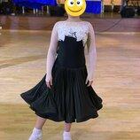Бейсик платье для бальных танцев стандарт