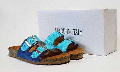 Женские шлепанцы Made in Italy Италия натуральная кожа 37-40