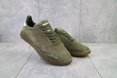Кроссовки мужские Adidas Kamanda замш хаки