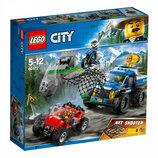 Конструктор Lego City Погоня на грунтовой дороге 60172
