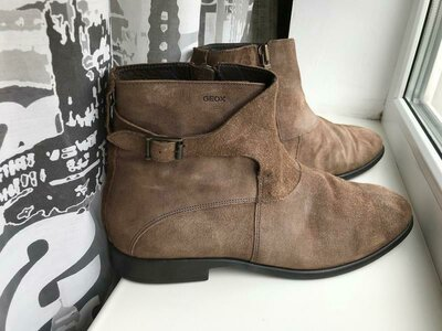 Мега стильные ботинки от geox пр-во италия Geox