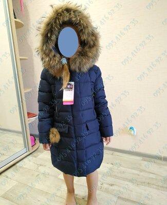 Зимнее пальто Kiko 5317 для девочки 134 - 164