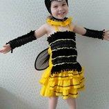 Прокат детский карнавальный, маскарадный костюм пчела, бджола, пчелка,бджілка, оса утренник, Киев