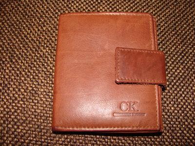мужской кошелек портмоне CK кожа идеал Louis Vuitton Burberry Gucci