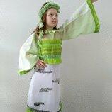 Прокат детский карнавальный костюм березки,березка, береза, берізка Листочек, Весна, Природа, Дерево