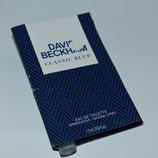 David & Victoria Beckham Classic Blue eau de toilette оригинал 1,2 мл пробник редкость