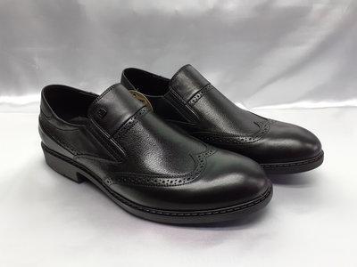 Стильные осенние кожаные туфли-броги Bertoni 40,41,42,43,44,45р.