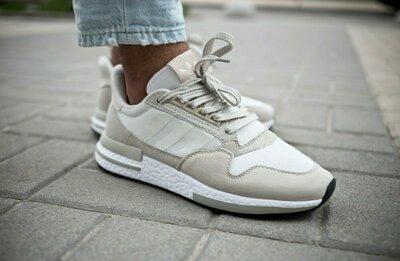 Мужские серые светлые Кроссовки Adidas
