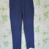 Синие брюки/слим