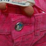 Вельветовые штаны джинсы H&M 1/2-2 года 92 см