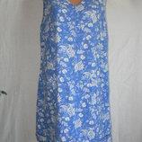 Легкое платье лен с вискозой Next 16p
