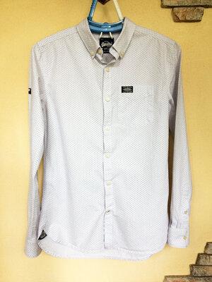 Рубашка приталенная Superdry оригинал , р.S