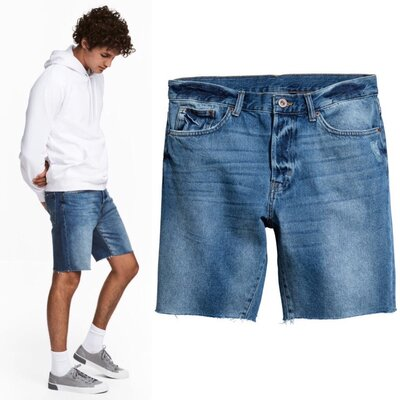 шорты мужские 27,28,29р H&M