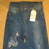 мериканкa с бахромой джинсы женские