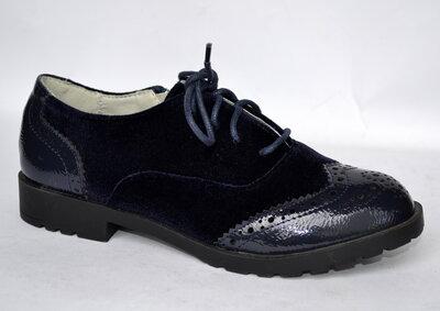 Туфли оксфорды для девочек тм W.Niko В.нико 31-37