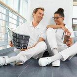 белые рабочие брюки р. евро 36 38 S от Job Style Германия