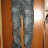 Новые Джинсы мужские молодежные спереди два накладных дополнительных кармана размеры 28,29,30,31,32