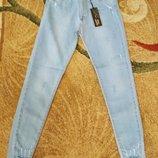 Американка джинсы с рванкой размер 27,28,30,31