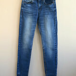 Темно-Синие узкие джинсы piazza italia