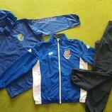 Спортивный костюм мужской тройка, кофта олимпийка, штаны, ветровка плащевка, XL-XXL, Lotto