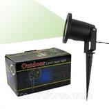 Уличный лазерный проектор Outdoor Lawn Laser Light с пультом