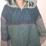 пальто Дания шерсть большой размер Dansk pelsuid рукав от плеча 56 плечи 63 под подмышками спереди