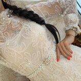 Нежное платье жемчужины