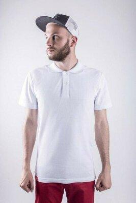Мужская футболка Поло PUNCH - Blanc белая