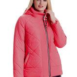 Ультрамодная укороченная женская куртка р 44-66