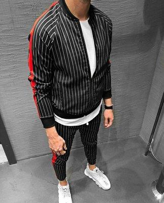 Стильный мужской костюм,2 цвета S,M,L,XL