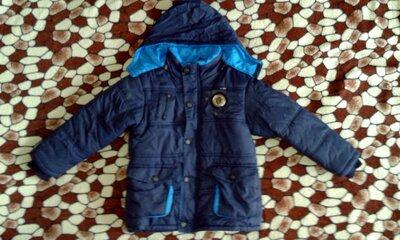 Зимняя курточка на мальчика 5-7 лет