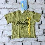 Детская футболка хаки Италия