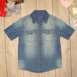 4-5 лет рубашка джинсовая george