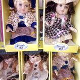 фарфоровые коллекционные куклы на выбор всего по 200гр