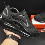 подростковые кроссовки Nike Air Max 720 черные 36-41р