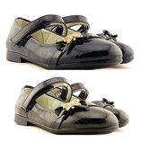 Черные,синие туфли на девочку Clibee, 309086,309084, 26-31р., 19