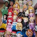 Мягкие куклы Принц Золушка и её питомец Тыковка 50 см из мультфильмов Дисней Disney