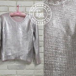 Легендарный сильвер металик свитер Silver metallic sweater