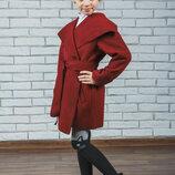 Кашемировое пальто для девочки vsl-01508 демисезонное детское пальто