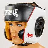Шлем боксерский в мексиканском стиле кожаный Lonsdale Xpeed 8341 шлем для бокса размер M-XL