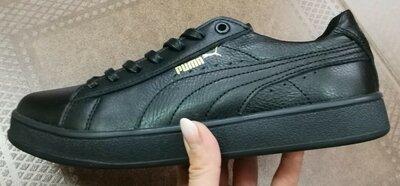 Puma classic Мужские кроссовки кеды натуральная кожа Пума классик