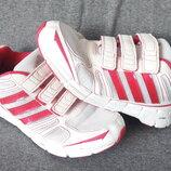 Супер лёгкие, дышащие детские кроссовки Adidas 35р. 22см