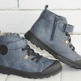 Демисезонные ботинки. размеры 22-32